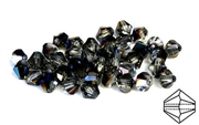 10pc precoscia crystal bicone blue flare  6mm