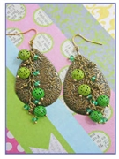 Filigree Brass Drops Kit as featured in digital beading