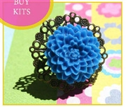 Filigree Flower Ring Kit as featured in digital beading
