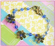 layered bloom bracelet as Featured in Digital Beading