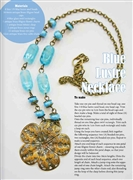 Blue Lustre Necklace Kit  as Featured In Digital Beading