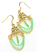 Golden Bridge Earrings Kit - Featured in Digital Beading Australia