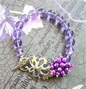 Leaf & Berries Bracelet Kit - Featured in Digital Beading Australia