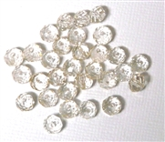 12pc crystal donut Golden Shadow 6mm