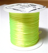 10m .8mm Elastic Neon Yellow