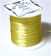 10m .8mm Elastic Light Yellow