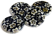 2pc flower shell 20mm discs