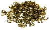 100pc wire guardians antique brass