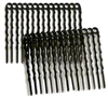 2pc nickel plated hair combs
