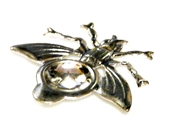 1pc silver plated setting bee