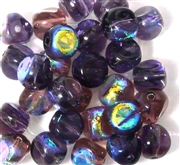 10pc 8mm Nugget Assorted Purple