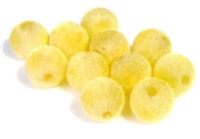 10pc 14mm velvet rounds lemon