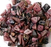 100pc Gemstone Chips Rhodonite 6-8mm