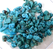 100pc Gemstone Chips Turquoise Natural 4-6mm