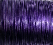 10m .5mm Cotton Knotting Cord Purple