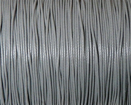 10m .5mm Cotton Knotting Cord Gray