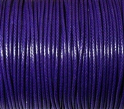 6m 2mm Cotton Knotting Cord Purple