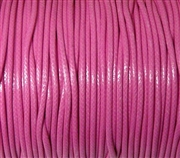 6m 2mm Cotton Knotting Cord Rose