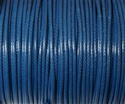 6m 2mm Cotton Knotting Cord Medium Blue