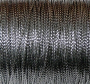 10m 1mm Braided Thread Silver