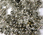 10GM Silver Mix 3mm Spacer Round