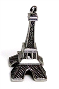 1pc Paris Large 3d Pendant 50x22mm