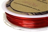 6m 22 Gauge thickness Brass Wire Red