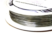 15m 26 Gauge thickness Brass Wire Silver