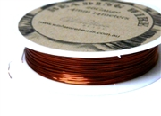 14m 26 Gauge thickness Brass Wire Brown
