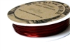 14m 26 Gauge thickness Brass Wire Red