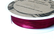 14m 26 Gauge thickness Brass Wire Pink