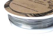 14m 26 Gauge thickness Brass Wire Silver