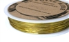 26m 26 Gauge thickness Brass Wire Gold