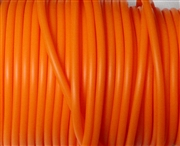3m 3mm rubber tubing hollow Orange