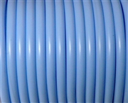 2m 5mm rubber tubing Hollow Light Sky Blue