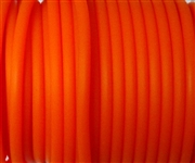3m 4mm rubber tubing Solid Orange