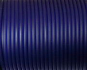 4m 4mm rubber tubing Solid Dark Blue