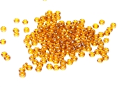 10gm 11/0 topaz rainbow czech seed beads