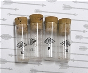1pc vintage Vials Glass Newall