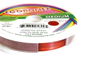 30ft cinnamon red econoflex softflex tigertail .019mm