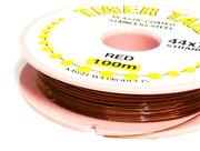 100m 44x7 strand tigertail red