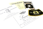 6pc vintage label pack #3a