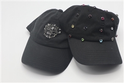 Black Design Baseball Caps
