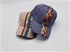 Multi Color Ribbon Missoni Baseball Caps