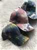 Tie Dye Denim Baseball Cap