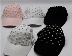 Pearl Baseball Caps