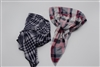 Plaid Pretied Bandana