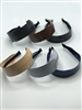Wide Patton Leather Headband