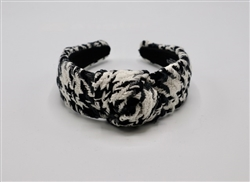 Tweed Houndstooth Headband