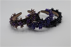 Flower Beaded Headband